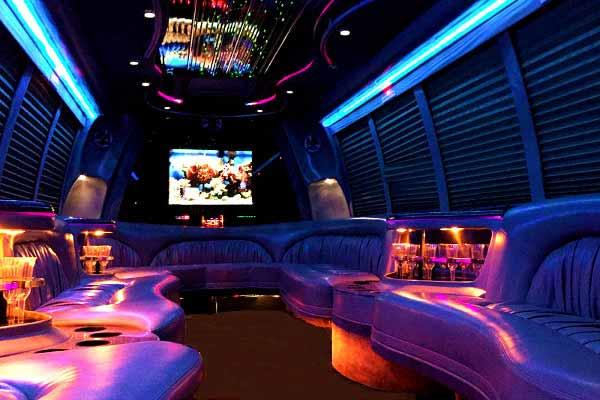 18 passenger party bus rental Baton rouge