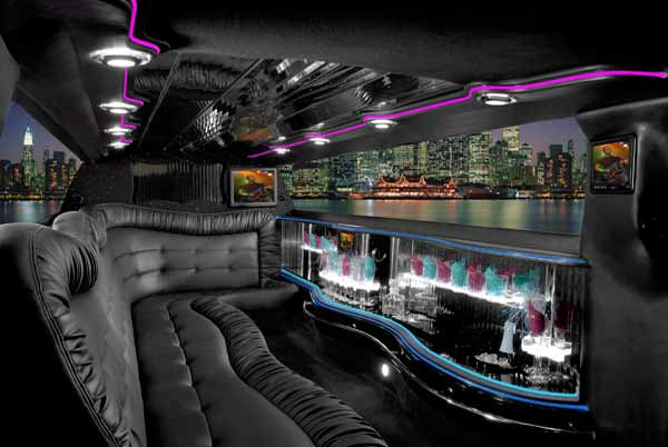 Chrysler 300 limo interior Baton rouge